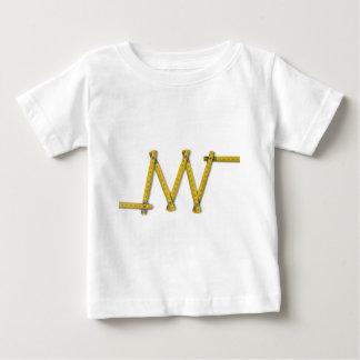 folding ruler zig zag baby T-Shirt