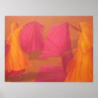 Folding Saris 2010 Poster