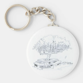 foldings seat of arvore of the ecological preserva keychain