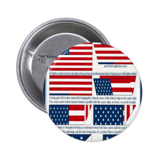 Folds of the Flag Pin