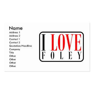 Foley Alabama Business Card