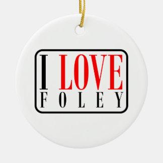 Foley Alabama Ceramic Ornament