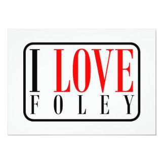 """Foley Alabama Invitación 5"""" X 7"""""""