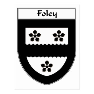 Foley Coat of Arms/Family Crest Postcard