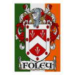 Foley Coat of Arms Print