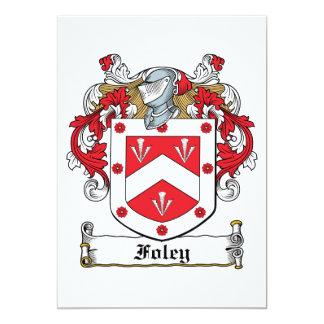 Foley Family Crest Card