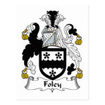 Foley Family Crest Postcards