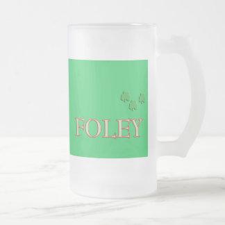 Foley Family Name Mug