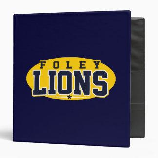 Foley High School; Lions Binder