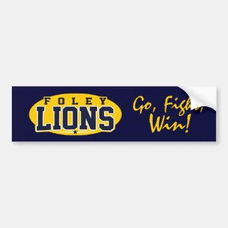 Foley High School; Lions Bumper Sticker