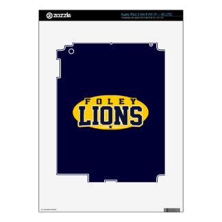 Foley High School; Lions Decal For iPad 3
