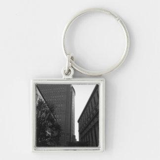 Foley Square Backdrop Keychain