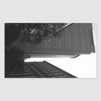 Foley Square Backdrop Rectangular Sticker