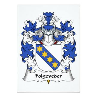 Folgeveder Family Crest Card