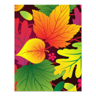 folhas de outono anuncios personalizados