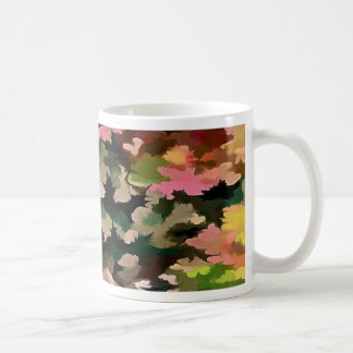 Foliage Abstract In Autumnal Tones Coffee Mug