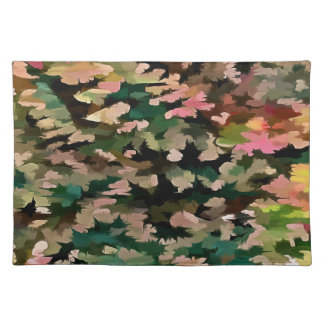 Foliage Abstract In Autumnal Tones Placemat