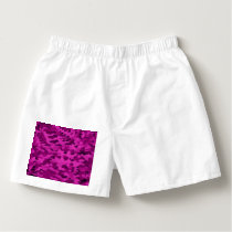 Foliage Abstract  Pop Art Violet Boxers