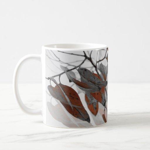 Foliage Classic White Coffee Mug