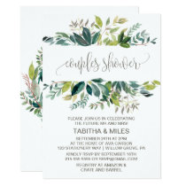 Foliage Couples Shower Invitation