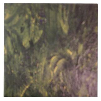 Foliage Growing On Wall Tile