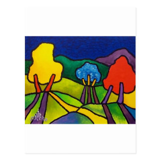 Foliage J by Piliero Postcard