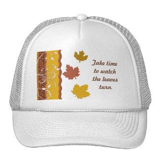 Foliage Leaf Decoration Ornamental Art Mesh Hat