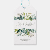 Foliage Love & Thanks Gift Tags
