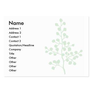 Foliage No. 3 | Business Cards