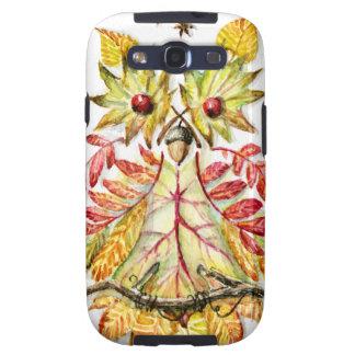 Foliage owl galaxy s3 cover