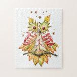 Foliage owl puzzle