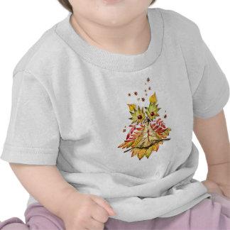 Foliage owl shirts