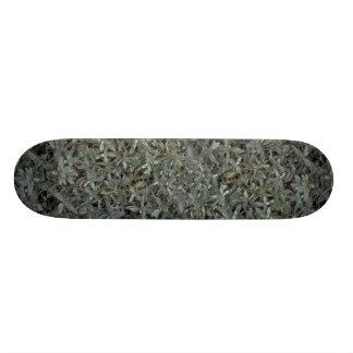 Foliage texture skate board decks