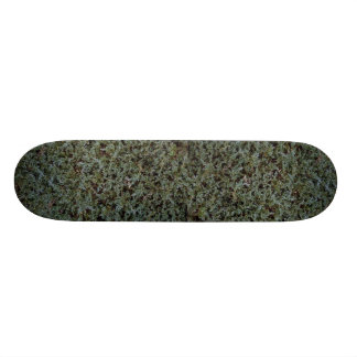 Foliage texture skateboard deck