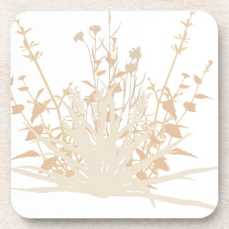 foliages drink coaster