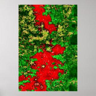 foliagetreesdifartbnew-copia b085 póster