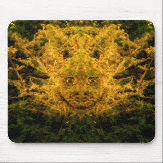 Foliate Man Mouse Pad