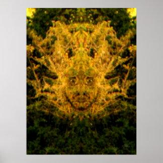 Foliate Man Poster