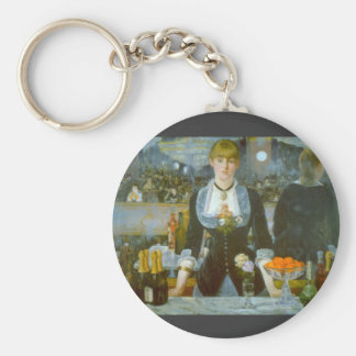 Folies-Bergere by Edouard Manet Keychain
