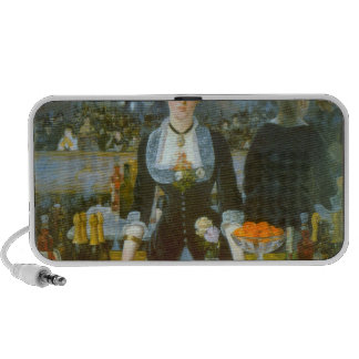 Folies-Bergere by Edouard Manet Laptop Speakers