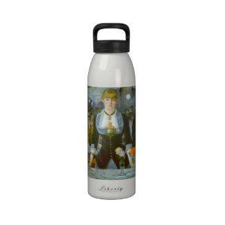 Folies-Bergere by Edouard Manet Water Bottle