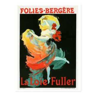 Folies-Bergère La Loie Fuller, Jules Chéret Postcards