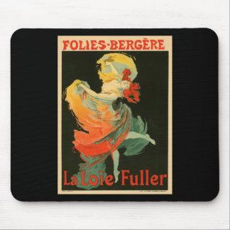 Folies Bergere La Loie Fuller Mouse Pad
