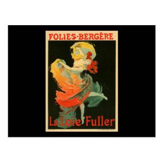 Folies Bergere La Loie Fuller Postcard
