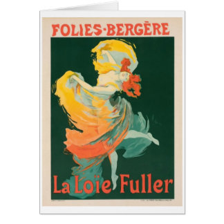 Folies Bergère notecard Card