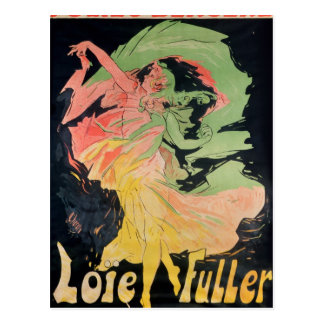 Folies Bergeres: Loie Fuller, France Postcard