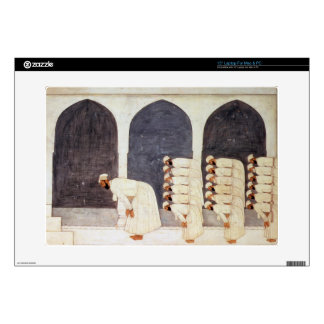 Folio.38a A Mogul prince in a mosque leading Frida Decals For Laptops