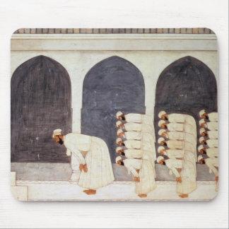 Folio.38a A Mogul prince in a mosque leading Frida Mouse Pad