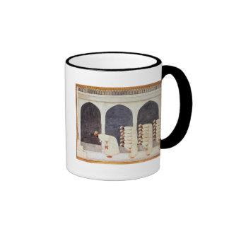 Folio.38a A Mogul prince in a mosque leading Frida Coffee Mug