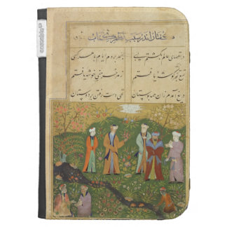Folio 39, A garden scene, from the 'Bustan of Sa'd Cases For Kindle